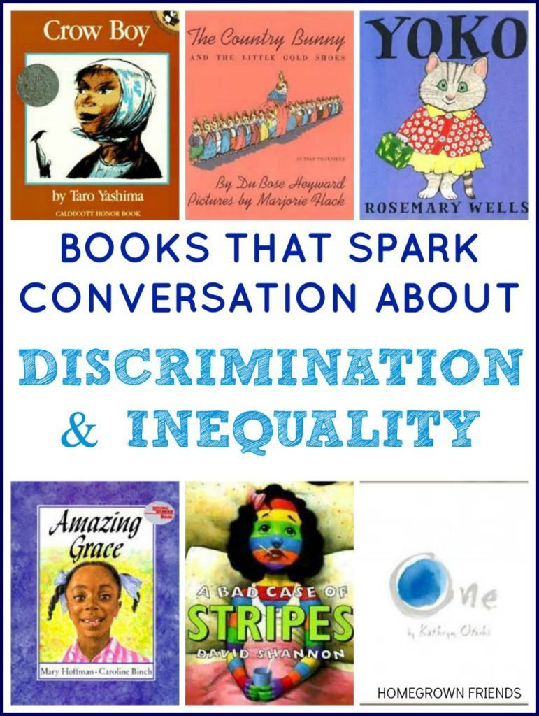 Picture Books that Spark Conversation About Discrimination and Inequality