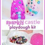 Sparkly Castle Playdough Kit