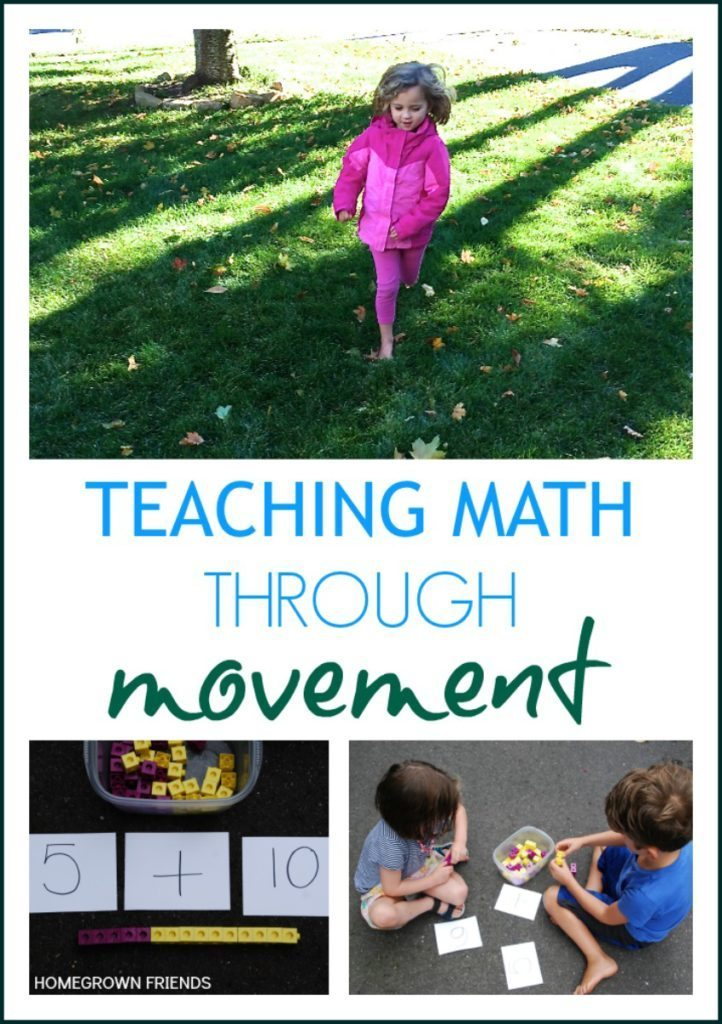 Teaching Mathematics Through Movement