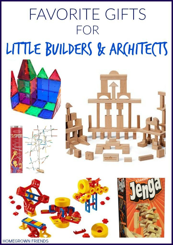 Favorite kid gifts for little builders and architects Gifts for home builders