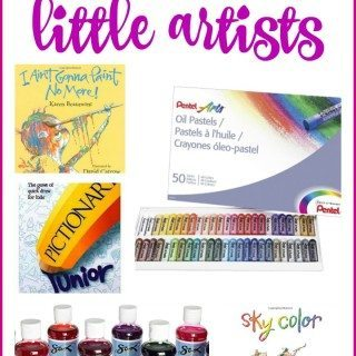 Favorite Art Themed Gifts for Children