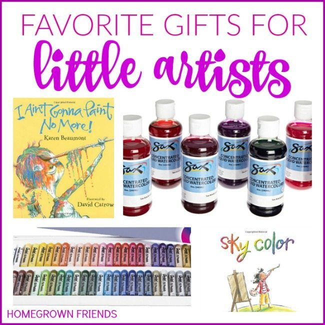 Favorite Art Themed Gifts for Kids