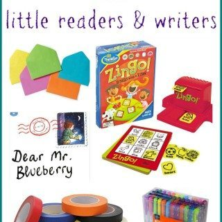 Favorite Kid Gifts for Little Readers and Writers