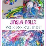 Jingle Bells Process Painting