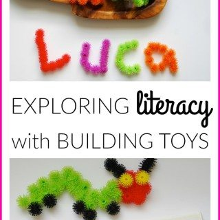 Exploring Literacy With Building Toys