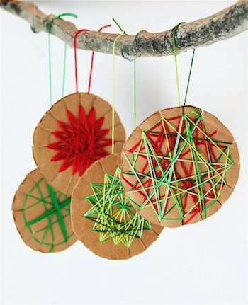 Ornaments from The Crafty Crow