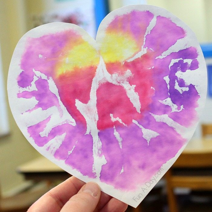 Easy Valentine's Day Process Art Activities