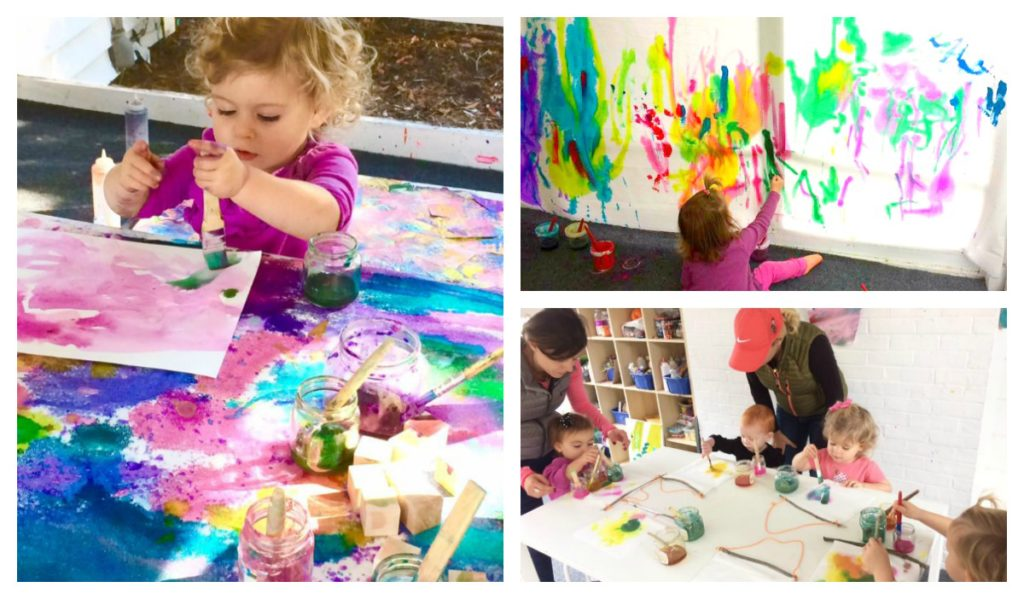 Homegrown Studio is a place to come and have fun with your children!