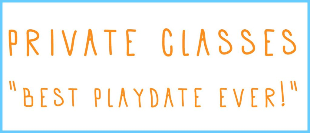 Schedule a private class to have the best playdate ever at Homegrown Studio CT