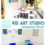 Homegrown Friends Kid Art Studio