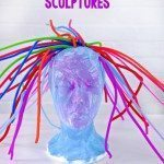 Styrofoam Head Sculptures for Kids