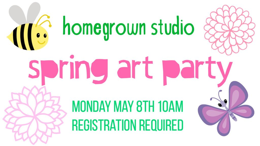 Spring Art Party