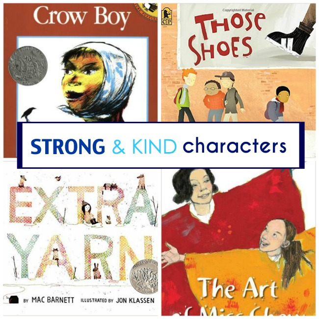 Strong and Kind Books Characters