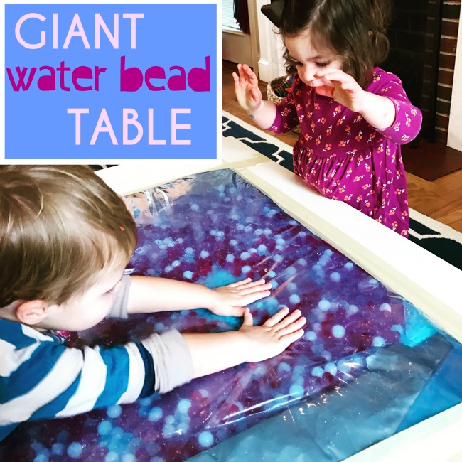 Giant Water Bead Sensory Table