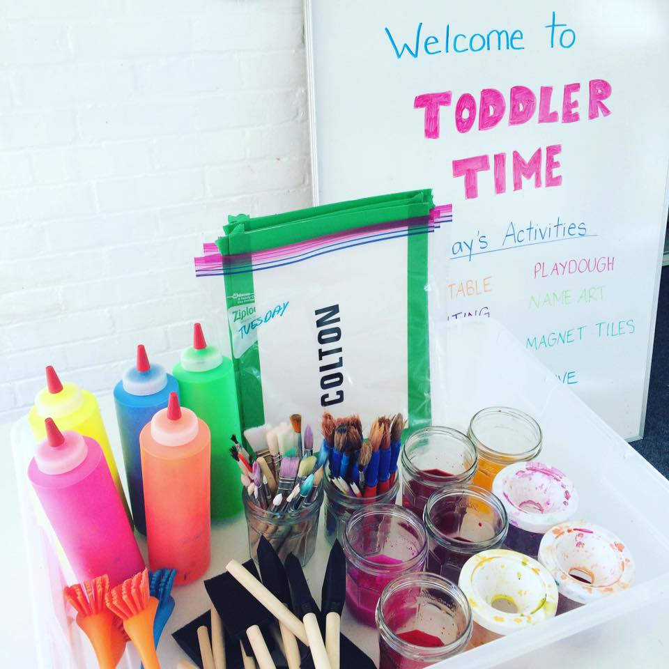 how to organize for easy fun toddler playgroup ideas