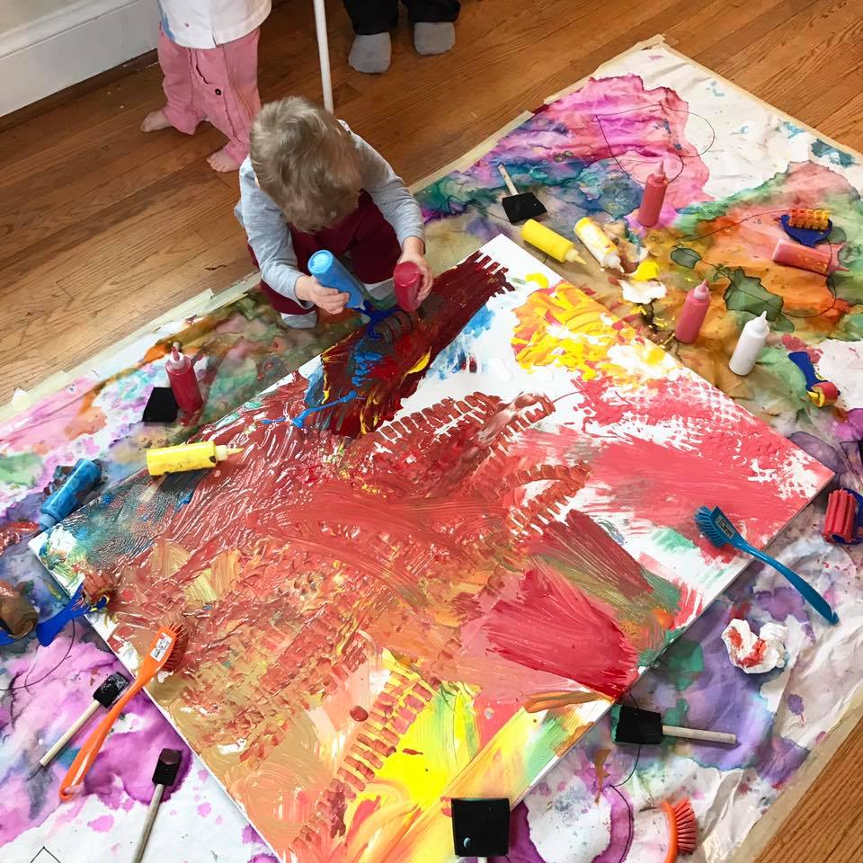 one of the Easy Fun Toddler Playgroup Ideas