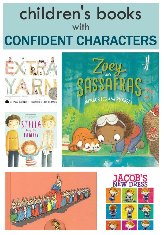 Confident Characters in Children's Books