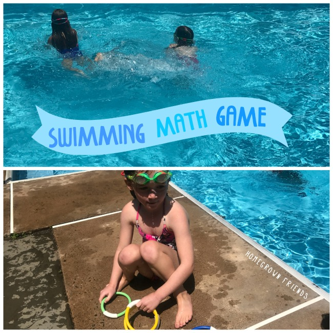 Kids Swimming Math Game