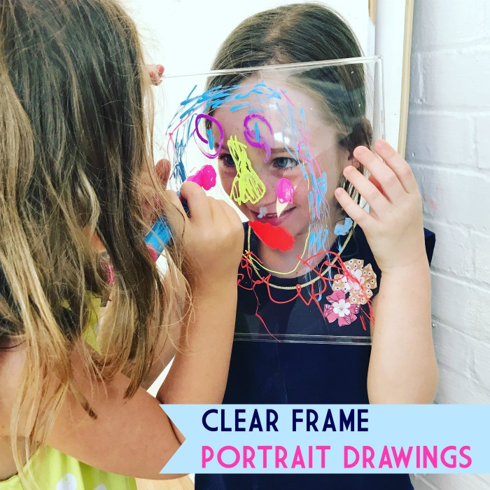 Clear Frame Portrait Drawings