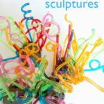 Chihuly Inspired Process Art Sculptures