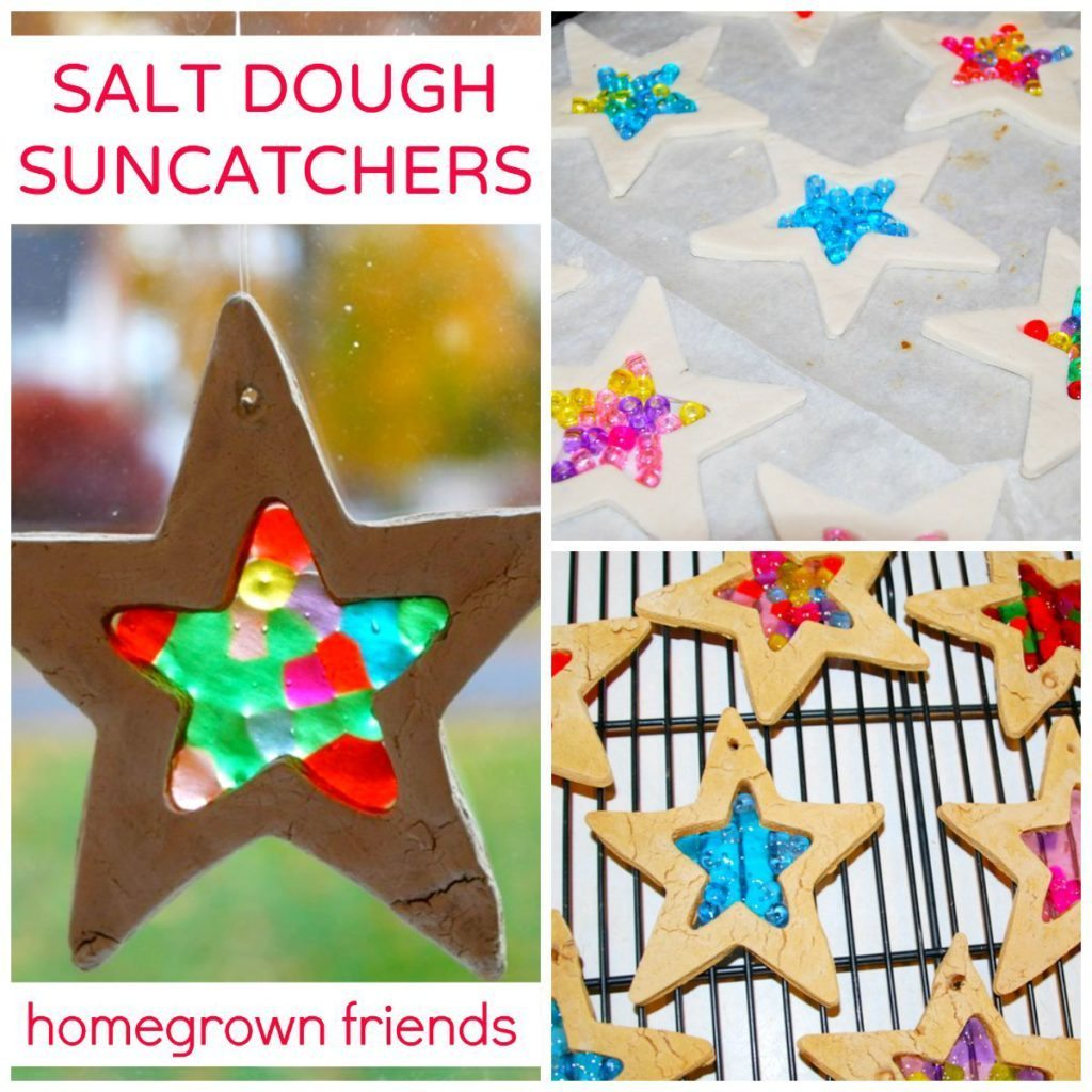 Salt Dough Tree Decorations