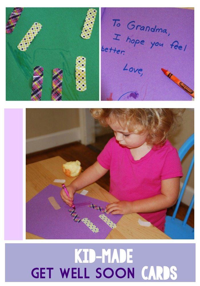 kid friendly get well soon cards homegrown friends