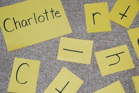 Name Scramble Literacy Activity - Homegrown Friends