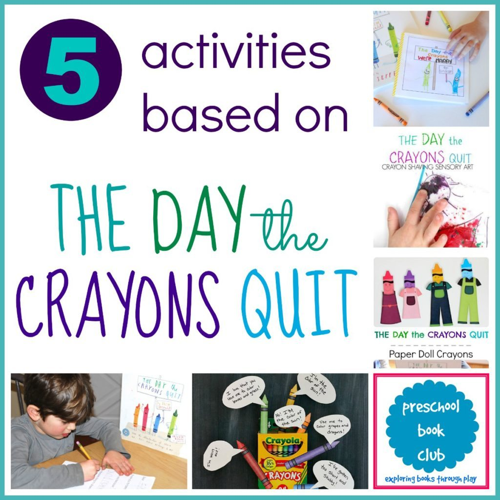 the day the crayons quit message