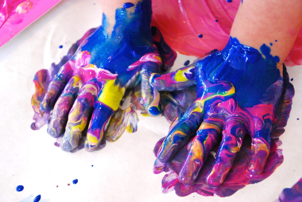 Finger Painting Art For Adults