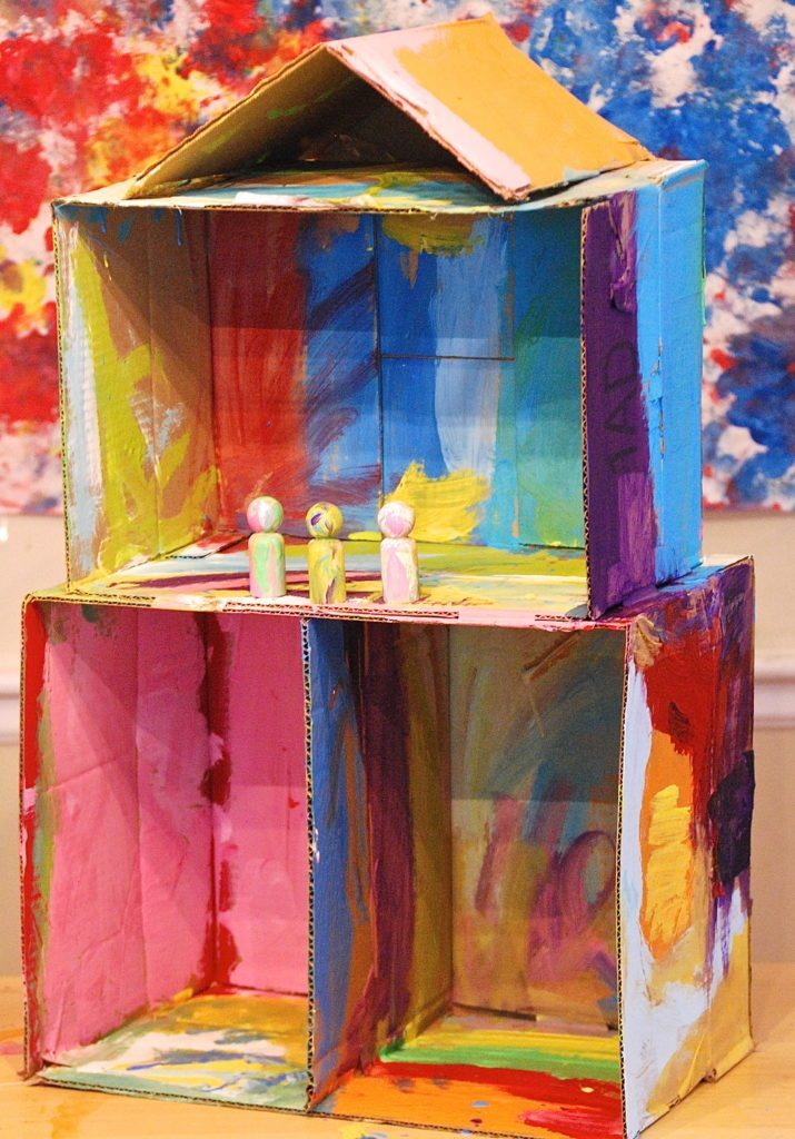 Very Best I Ain T Gonna Paint No More Cardboard Dollhouse Homegrown Friends Gj15