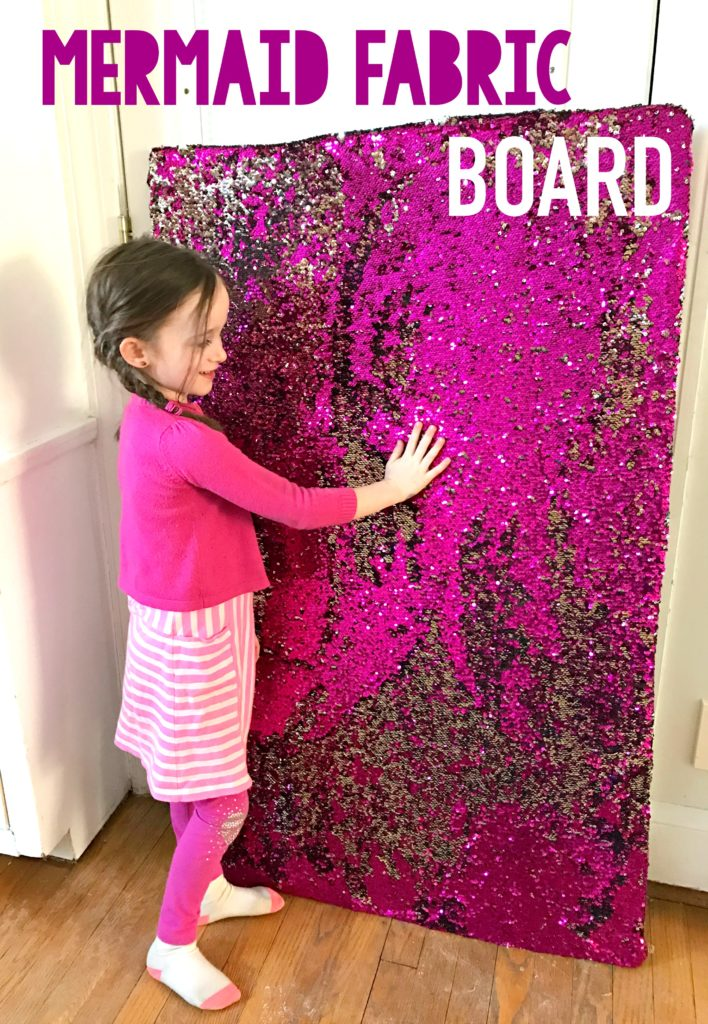 how to make a fabric board